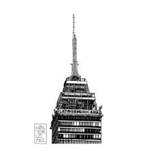 Edificios CDMX. Un proyecto de Arquitectura y Dibujo de Héctor López - 01.01.2020