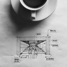 Dibujos + Comida. Un proyecto de Dibujo de Héctor López - 01.01.2020