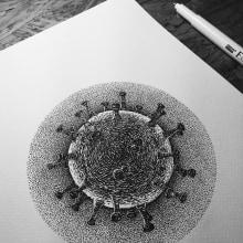 Dibujos Recientes 02. Un proyecto de Ilustración y Dibujo de Héctor López - 01.01.2020