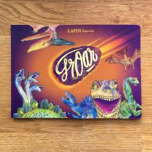groar art book. A Illustration, Skizzenentwurf, Aquarellmalerei, Sketchbook und Editorial Illustration project by Lapin - 20.11.2020