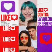 Campaña Contra la Violencia de Género. Um projeto de Publicidade, Direção de arte, Design gráfico e Design de logotipo de Revel Studio - 24.11.2020