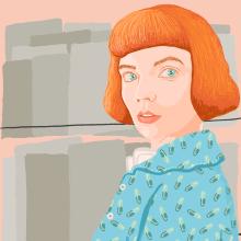 Gambito de dama. Um projeto de Ilustração de Gisele Murias - 26.11.2020