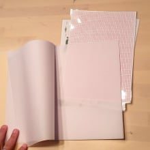 The changeable notebook. A Creativit project by Jozsef Taller - 11.27.2020