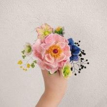 3D Embroidery -  Peony. Un proyecto de 3D y Bordado de shan - 27.11.2020
