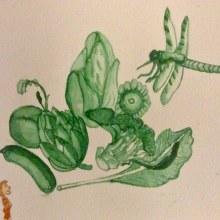 My project in Modern Watercolor Techniques course. Un proyecto de Pintura a la acuarela de Didier Van Impe - 29.11.2020