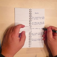 The poet's notebook. A Creativit project by Jozsef Taller - 11.30.2020