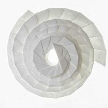 Origami X Geometry - Origami Artwork. Um projeto de Design, Instalações, Fotografia, Curadoria, Eventos, Artes plásticas, Design gráfico, Design de cenários, Papercraft, Pattern Design, Concept Art, Decoração de interiores e DIY de Kristina Wißling - 01.12.2020