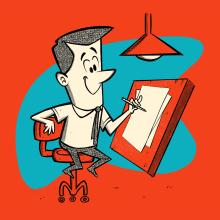 Mi Proyecto del curso: Diseño de personajes estilo cartoon con Procreate. Um projeto de Design, Ilustração, Br, ing e Identidade, Design de personagens, Design de produtos, Desenho a lápis, Desenho, Design de cartaz, Ilustração digital, Desenvolvimento de Portfólio, Ilustração infantil e Desenho digital de Ed Vill - 01.12.2020