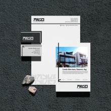 Argo   Mi Proyecto del curso: Creación de mockups para diseño gráfico. Un proyecto de Arquitectura, Br, ing e Identidad y Diseño de logotipos de Nicolás Romero - 02.12.2020