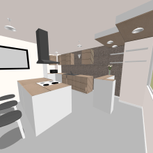 Mi Proyecto del curso: Diseño de interiores para espacios multifuncionales. Un proyecto de Arquitectura interior de Angeli Caldera - 03.12.2020