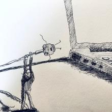 Mi Proyecto del curso: El arte del sketching: transforma tus bocetos en arte. Un proyecto de Dibujo de balamkej - 03.12.2020