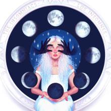 Night Tribes. Um projeto de Ilustração e Ilustração digital de Vero Navarro - 04.12.2020