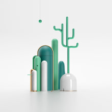 Paisaje Cerámica. Un proyecto de Ilustración, 3D, Modelado 3D y Cerámica de Francisco Cortés - 22.11.2019
