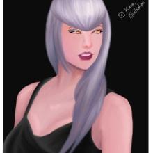 Mi Proyecto del curso: Retrato de personajes femeninos con Procreate. Un proyecto de Ilustración de retrato de Carla Bencomo Magaña - 05.12.2020