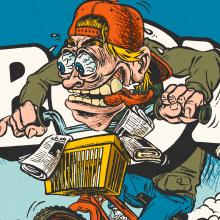 Megarides. Un proyecto de Ilustración, Dirección de arte, Dibujo e Illustración editorial de Ink Bad Company - 08.12.2020