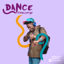 Dance Challenge (Online Fundraising Campaign). A Motion Graphics, Animation, Art Direction, Br, ing, Identit, and Social Media Design project by Amaia Zelaiaundi - 10.09.2020