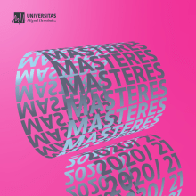 Universidad Miguel Hernández, Campaña Másteres 2020. A Motion Graphics, Animation, Education, and Poster Design project by Amaia Zelaiaundi - 03.10.2020