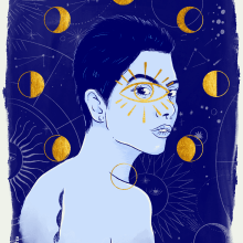 Meu projeto do curso: Procreate: técnicas de ilustração criativa. Un proyecto de Ilustración digital de Luci Caroline Silva - 11.12.2020