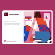Adobe Indesign Splash Screen 2021. A Illustration und Digitales Lettering project by Birgit Palma - 11.12.2020