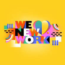 We <3 New Work. A Illustration, 2-D-Animation und Digitales Lettering project by Birgit Palma - 11.12.2020