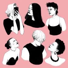 Mi Proyecto del curso: Técnicas de dibujo tradicional con Procreate. Un projet de Dessin au cra, on , et Dessin de Laura Wächter - 13.12.2020