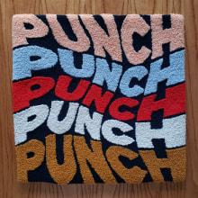 PUNCH PUNCH PUNCH PUNCH PUNCH. Un progetto di Design, Artigianato, Lettering , e Ricamo di Caro Bello - 25.11.2020