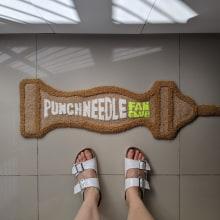 Punch Needle Fan Club. Un progetto di Artigianato , e Ricamo di Caro Bello - 08.11.2020