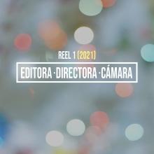 Reel como Editora / Directora / Cámara. Un proyecto de Publicidad, Cine, vídeo, televisión, Br, ing e Identidad, Diseño gráfico, Postproducción y Creatividad de Sofía Villafañe - 15.01.2019