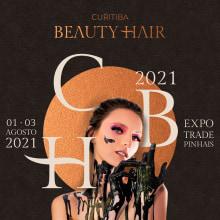 Curitiba Beauty Hair 2021. Un proyecto de Diseño, Br, ing e Identidad y Diseño de logotipos de Bruno Magrini - 22.12.2020