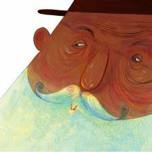 Old Man of The Sea. Um projeto de Desenho a lápis, Desenho, Pintura em aquarela, Desenho artístico e Narrativa de Weberson Santiago - 15.10.2020