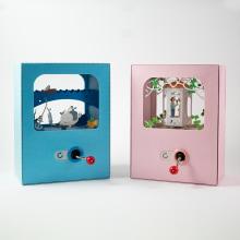 Caixas de música - paper crafts. Um projeto de Artesanato, Papercraft e Ilustração infantil de Dilene Oliveira - 27.12.2020
