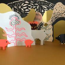 Juguetes de papel. Un proyecto de Papercraft de Paz Tamburrini - 08.07.2019
