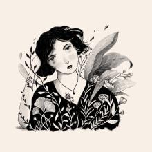 Mi Proyecto del curso: Técnicas de dibujo tradicional con Procreate. A Bleistiftzeichnung, Zeichnung und Digitale Zeichnung project by Danelys Sidron - 30.12.2020
