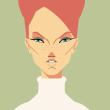 Procreate portraits. Un proyecto de Ilustración y Diseño de personajes de Braulio Baltazar - 02.01.2021