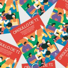 Orgullo de ti · LGTBI. Um projeto de Ilustração, Design editorial e Design de cartaz de Bee Comunicación - 04.01.2021