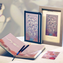Moleskine Studio Collection. A Illustration project by Sonia Alins Miguel - 09.04.2020