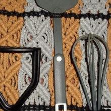 Mein Kursprojekt: Makramee: einfache und komplizierte Knoten. A Macrame project by Sylvia Haendschke - 01.05.2021