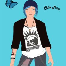 Chloe Price. Un proyecto de Ilustración de Camila Maturana García - 26.12.2020