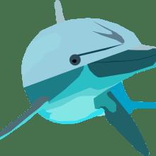 Delfín. Un proyecto de Ilustración de Camila Maturana García - 05.07.2020