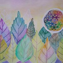 Mi Proyecto del curso: Creación de paletas de color con acuarela. A Watercolor Painting, and Botanical illustration project by Ana Karina Moreno - 01.04.2021