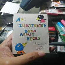 Mi Proyecto del curso: Laboratorio de fanzines y autopublicación: An illustrated book about birds. A Illustration, and Drawing project by Jean Carlo Navarro - 01.06.2021