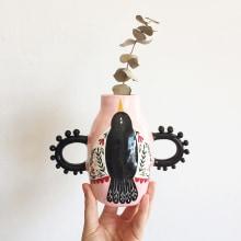 Ceramic Vases. Um projeto de Design, Ilustração e Cerâmica de Pepa Espinoza - 06.01.2021