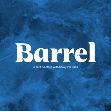 UT Barrel font. A Design, T und pografisches Design project by Wete - 07.01.2021
