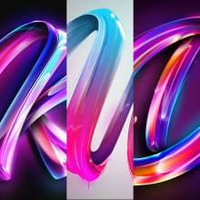 36 DAYS OF TYPE. A T, pografie, 3-D-Modellierung, H und Lettering project by Eduardo Morgan - 08.01.2021