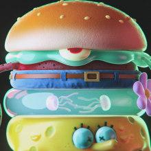 Nickelodeon Halloween bumpers. A 3-D, Kunstleitung, Animation von Figuren, 3-D-Animation und 3-D-Design project by Zigor Samaniego - 08.01.2021