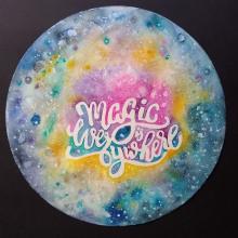 Mi Proyecto del curso: Técnicas modernas de acuarela. A Calligraph, and Watercolor Painting project by Ana Karina Moreno - 01.08.2021