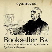 Bookseller Bk. A T, pografie, T und pografisches Design project by Damián Guerrero Cortés - 16.12.2020