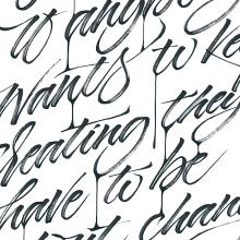 OFFF Book 2019 . A Kalligrafie, Lettering, Kalligrafie mit Brush Pen, H und Lettering project by Iván Caíña - 25.04.2019