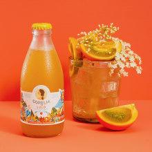 Corelia Premium Sparkling Juice. Um projeto de Ilustração e Packaging de Tatiana Boyko - 11.01.2021