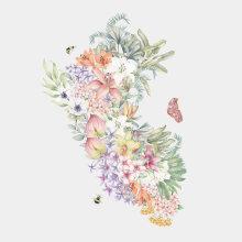 Peru Florece. Un projet de Aquarelle de Cristina Cilloniz - 11.01.2021
